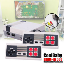 CoolBaby Classic Mini 8 Bit Console Built-in 500 Games With Handle Control Kit