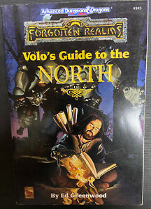 AD&D Forgotten Realms Volo's Guide to the North 1993 TSR
