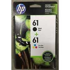 HP GENUINE 61 Black & 61 Tri-Color Ink DESKJET 3510 3512 Exp 2019-2020