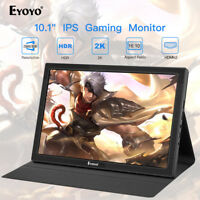 "Eyoyo 10"" Zoll 2K HDR IPS HDMI-Gaming-Monitor für For Raspherry Pi Wii Switch A"