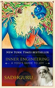 Inner Engineering : A Yogi's Guide to Joy By Sadhguru Paperback Via FBB