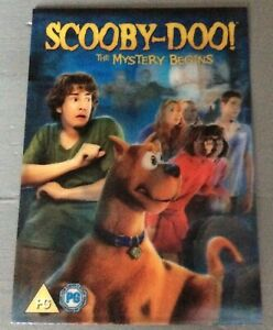 Scooby-Doo! lenticular promotional card would look great framed