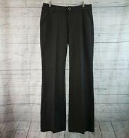 CAbi 3574L Womens Promotion Trouser Sz 12L Charcoal Gray