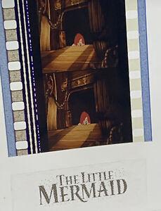 Disney LITTLE MERMAID Authentic Animation Film 5-Cells Strip ARIEL PEEKING
