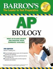 Barron's AP Biology, 4th Edition by Deborah Goldberg (2013, Paperback, Revised)