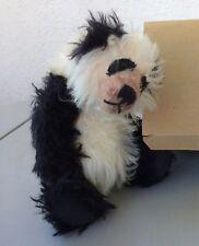 NWT Bear Essentials Mohair Multi-Jointed Panda Bear