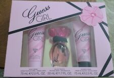 Guess Girl Perfume Fragrance 3 Piece Set Eau De Toilette Body Cream Shower Cream