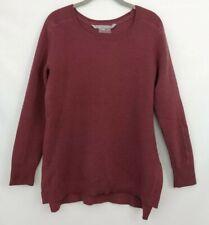 Athleta Honeycomb Thermal Tunic Sweater Mauve Women's M