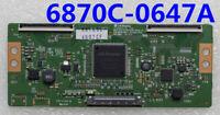 Original LG T-con Board 6870C-0647A For TV