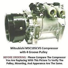 Dodge Stealth Mitsubishi 3000GT 94 - 99  OEM  MSC105CVSAC Compressor 4 Groove