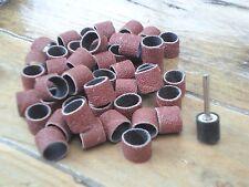 Lot de 50 rouleaux de ponçage grain de 150 pour Dremel & Mini perceuse