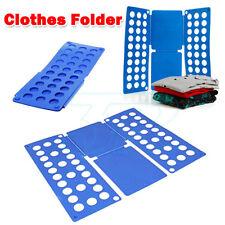 A5: Clothes T Shirt Top Folder Magic Folding Board Flip Fold Laundry Organizer