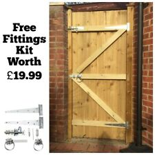 Exceptionnel MADE TO MEASURE WOODEN GARDEN GATE / GATES FEATHEREDGE TREATED 1.8M HIGH