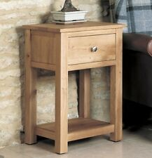 MoBEL Lamp Table Side End Cabinet Solid Oak Living Room Furniture