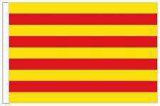 Spain Catalonia Sleeved Courtesy Flag ideal for Boats 45cm x 30cm