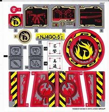 LEGO 70750 - Ninjago - Ninja DB X - STICKER SHEET
