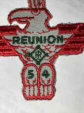 Shawnee Vintage 1955 Reunion Patch BSA Boy Scouts Totem Embroidered