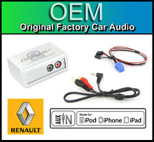 RENAULT ESPACE AUX in lead STEREO AUTO IPOD IPHONE PLAYER ADAPTER CONNECTION KIT