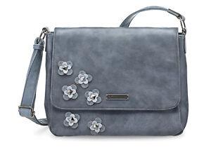 Sale TAMARIS Damen Handtasche LUNA CrossbodyBag M blau NEU ehemaliger UVP 49,95€
