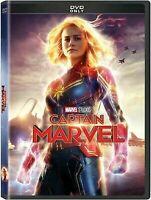 Captain Marvel (DVD, 2019) BRAND NEW FREE SHIPPING USA SELLER