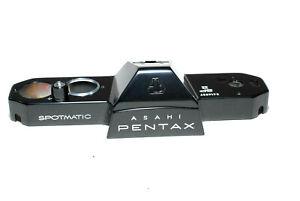 Asahi Pentax Oberkappe SP2 Spotmatic / new black top cover - old stock (NEU)