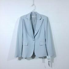 Tahari Arthur S. Levine Gray Blue Blazer Size 4 - $300 Retail - New With Tags
