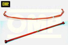 OMP FRONT & REAR STRUT BRACE HONDA CIVIC 1.8 i-VTEC