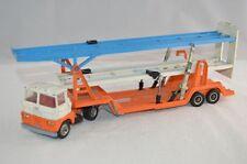 "Corgi Toys 1146 ""Scammell Tri-Deck Car Transporter"" - (Original 1970's) & RAMP"