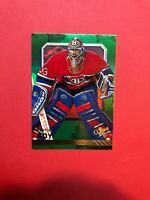 2016-17 Fleer Showcase EX 2017 Green #21 Patrick Roy - Montreal Canadiens