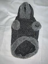 New listing Fitwarm Knitted Sweatshirts for Dog Coats Sweater Pet Hooded Jackets, Grey, Med