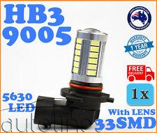 1x HB3 9005 33SMD LED 6000K Headlight Super White Fog Lamp Globe Bulb Xenon HID
