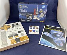 NATIONAL GEOGRAPHIC SPACE MISSION 3D FOAM PUZZLE CUBICFUN NASA SHUTTLE ASTRONAUT