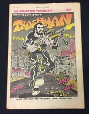 "1969 ""Trashman"" #1 underground newspaper comic Spain R.Crumb fine"