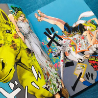 JOLYNE FLY HIGHT WITH GUCCI Comic Manga Jojo's Bizarre Advencture Art Book SPUR