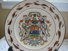 Gray's Pottery Dominion Of Canada Plate Made In England