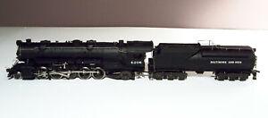 Rivarossi HO 2-10-2 Santa Fe Class S-1 Locomotive 6206 w/B&O Vanderbilt Tender