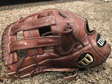 "Wilson A2000 1799 Pro Stock 12.75"" Baseball Glove Brown LHT"