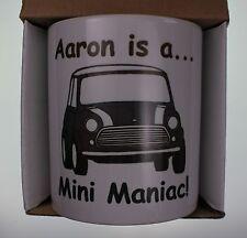 classic mini personalisierte kaffetasse crimbo mann höhle geschenk cooper 1275gt cooper s