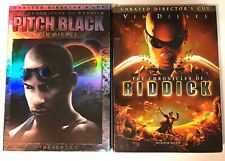 Pitch Black & The Chronicles Of Riddick (Vin Diesel) Unrated Directors Cuts Dvd