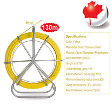 CA Sale Fish Tape Fiberglass Wire Cable Running Rod Duct Rodder Fishtape Puller