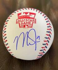 2014 All Star Game Mike Trout Signed Auto Baseball Global Authentics GV 885673