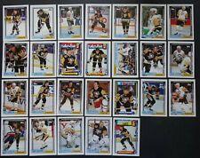 1992-93 Topps Pittsburgh Penguins Team Set of 26 Hockey Cards