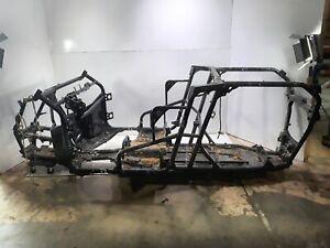 20 Kawasaki KRX Teryx KRF1000 Main Frame Chassis SLVG Damaged
