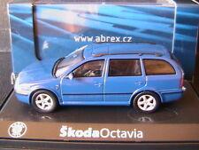 SKODA OCTAVIA COMBI 4X4 TDI BLUE DYNAMIC ABREX 143AB005L 1/43 TOUR BREAK KOMBI