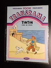 Pochette de Décalcomanies Tintin Jesco Transrama 1984 Transferts ETAT NEUF