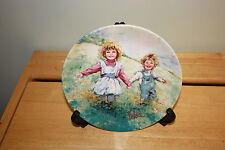 PLAYTIME BY MARY VICKERS COLLECTORS PLATE C4