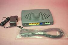 Full unlocked Motorola VT2442 4-Port VoIPx2 Wired Router
