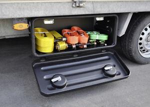 Anhänger-Staubox Werkzeugkiste für Anhänger 70x30x30 mm