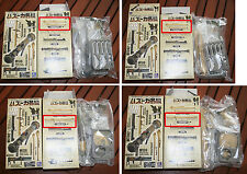 Lot 4 Gashapon/trading figure 1/6  Bazooka, ZACCA PLAST