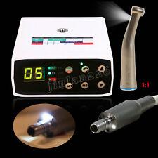 Brushless Electric Motor Internal Dental Micromotor 11 Led Fiber Contra Angle